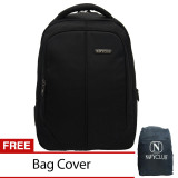 Jual Navy Club Tas Ransel Laptop 8233 Backpack Up To 15 Inch Bonus Bag Cover Hitam Navy Club Online