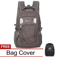 Beli Navy Club Tas Ransel Kasual Jumbo Tas Pria Tas Wanita Eiea Backpack Jumbo Bonus Bag Cover Abu Online Terpercaya