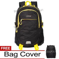Jual Real Polo Tas Ransel Laptop Kasual Tas Pria Tas Wanita 6358 Backpack Up To 15 Inch Bonus Bag Cover Hitam Real Polo Original