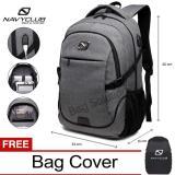 Toko Navy Club Tas Ransel Laptop Tas Pria Tas Wanita Backpack Built In Usb Charger Up To 15 Inch 62061 Abu Bonus Cover Tas Termurah Jawa Barat