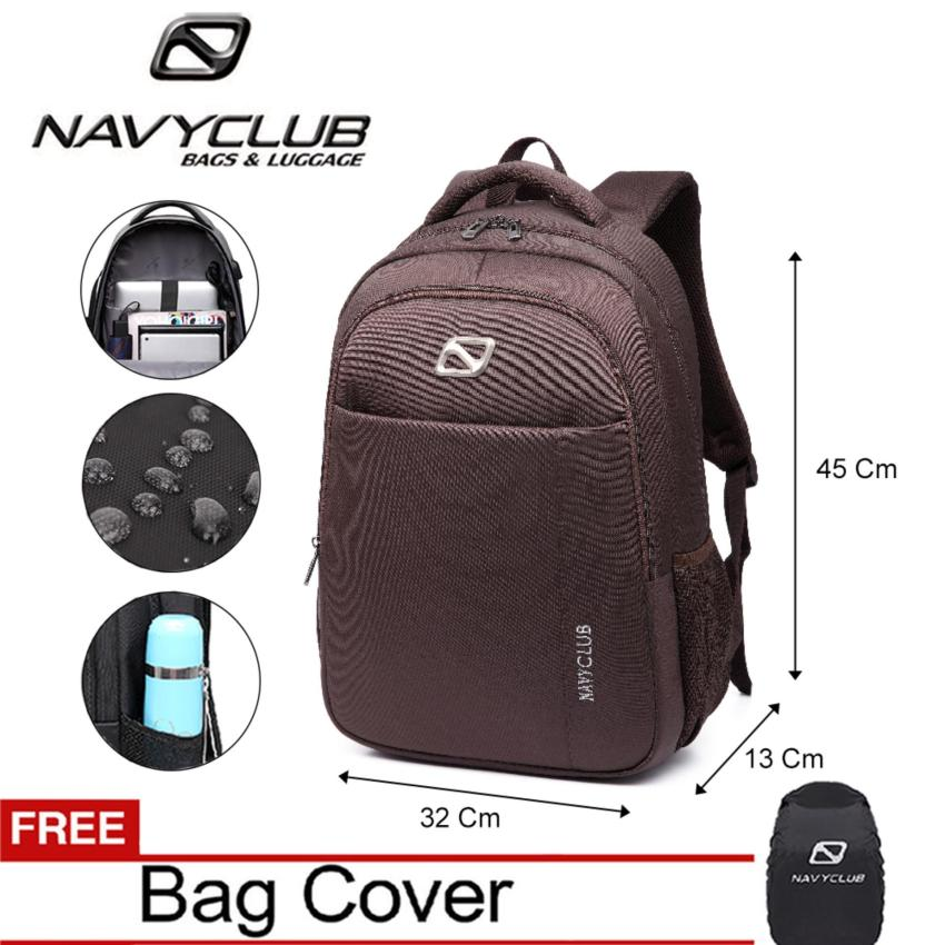 Navy Club Tas Ransel Laptop - Tas Punggung Tas Pria Tas Wanita - Backpack  Up to 09ff58c058