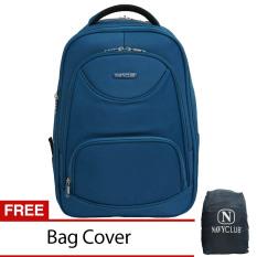 Beli Navy Club Tas Ransel Laptop Expandable Waterproof 5852 Biru Free Bag Cover Online Terpercaya
