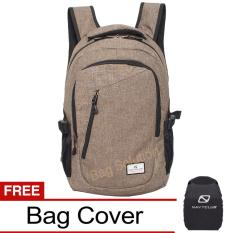 Diskon Navy Club Tas Ransel Laptop Kasual Tas Pria Tas Wanita Tas Laptop Trendy Eiba Backpack Up To 14 Inch Daypaack Coffee Branded