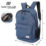 Harga Navy Club Tas Ransel Laptop Kasual Eibb Backpack Up To 14 Inch Daypaack Biru Paling Murah