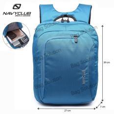 Toko Navy Club Tas Ransel Laptop Tahan Air Tas Pria Tas Wanita 5850 Backpack Up To 15 Inch Biru Online Di Jawa Barat