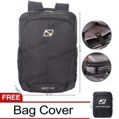 Navy Club Tas Ransel Laptop Tahan Air Tas Pria Tas Wanita Tas Laptop 5886 Backpack Up To 15 Inch Black A Original