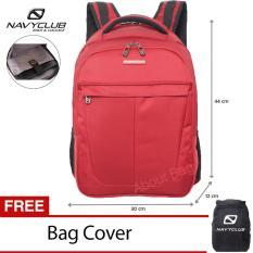 Harga Navy Club Tas Ransel Laptop Tahan Air 5905 Backpack Up To 15 Inch Bonus Bag Cover Merah Baru Murah