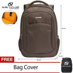 Harga Navy Club Tas Ransel Laptop Tahan Air 8292 Backpack Up To 15 Inch Bonus Bag Cover Coffee Satu Set