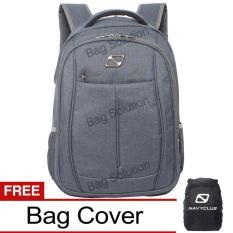 Situs Review Navy Club Tas Ransel Laptop 5888 Backpack Up To 15 Inch Bonus Bag Cover Black