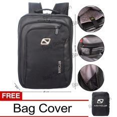 Cara Beli Navy Club Tas Ransel Laptop Tahan Air Tas Pria Tas Wanita Tas Laptop 5885 Backpack Up To 15 Inch Black