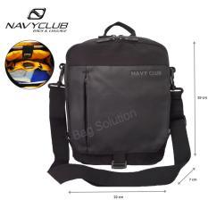 Toko Navy Club Tas Selempang Tablet Ipad Up To 10 Inch Tas Pria Tas Wanita 8270 Hitam Lengkap Jawa Barat