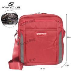 Spesifikasi Navy Club Tas Selempang Tablet Ipad Up To 10 Inch Tahan Air 5533 Merah Dan Harga