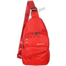 Harga Navy Club Tas Selempang Travel Tas Punggung Tahan Air Sling Bag Tas Pria Tas Wanita 5528 Red Terbaru