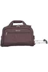 Harga Navy Club Travel Bag Trolley Duffle Bag With Trolley 2039 Coklat New