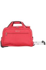 Beli Navy Club Travel Bag Trolley Duffle Bag With Trolley 2039 Merah Navy Club Asli