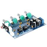 Ulasan Mengenai Ne5532 Stereo Pre Amp Preamplifier Papan Nada Audio 4 Saluran Amplifier Board Intl