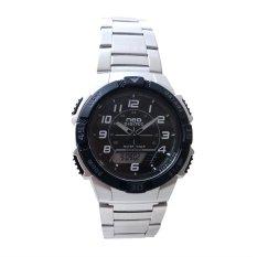 Review Toko Neo Digitec Dual Time Jam Tangan Sporty Pria Dg 1003 Bezel Hitam Stainless Steel Online