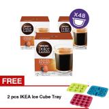 Jual Nescafe Dolce Gusto Kapsul Grande Intenso 3 Box Free 2 Pcs Ikea Ice Cube Tray Murah Di Jawa Barat