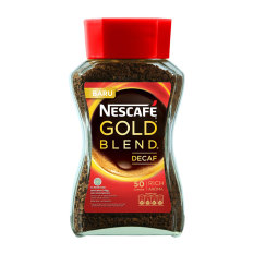 Diskon Besarnescafe Gold Decaf Jar 100Gr