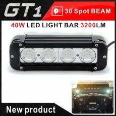 Baru 7.8 Inch 40 W Cree LED Lampu Kerja Bar Lampu Sorot Offroad untuk 4WD Perahu