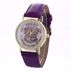 Baru Tiba Magic School Tangan Watches Fashion Wanita Wrist Jam Tangan Kasual Luxury QUARTZ Watch Harry Potter School Relogio Feminino Jam