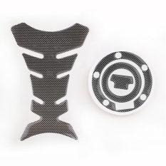 Diskon New Karbon Lihat Tangki Bahan Bakar Stiker Pad Gas Cap Penutup Pad Stiker Untuk Yamaha Yzf R1 R6 Internasional Oem