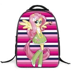 Beli Baru Kartun My Little Pony Tas Sekolah Untuk Gadis Indah Horse Printing Ransel Anak Bookbags 16 Inch Besar Kapasitas Tas Sekolah Intl Seken