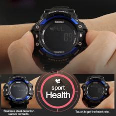 Beli Baru Berjalan Latihan Bersepeda Santai Luar Ruangan Tahan Air Kalori Alat Pengukur Langkah Denyut Jantung Olahraga Jam Biru 1180 Terbaru