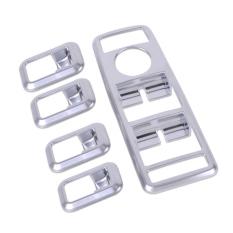 Baru Chrome Jendela Pintu Mobil Switch Panel Cover Trim Untuk Benz A W176B W246 C W204 E W212 Gl X166 Ml W166 Glk X204 Cls W218 Terbaru