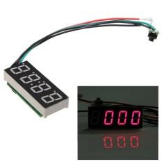 Jual New Dc7 30 V Digital Elektronik Led Jam Menonton Untuk Review Mobil Otomatis Motor Merah Internasional Original