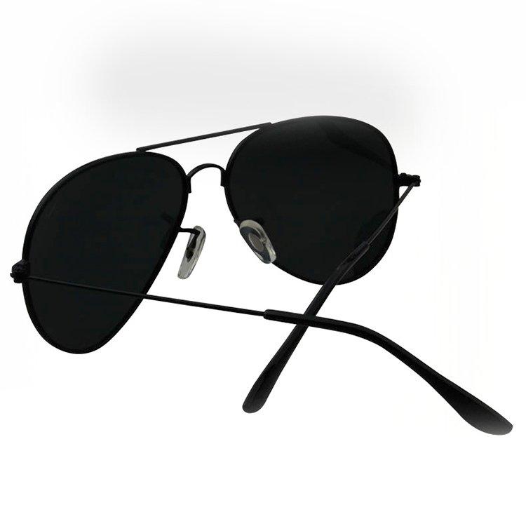 Model Kacamata Hitam Pria Penerbang HD Warna Kacamata Terpolarisasi Cermin Eyewear