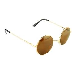Jual Baru Fashion Unisex Vintage Gaya Bingkai Lensa Retro Round Sunglasses Retro Kacamata Kacamata Online