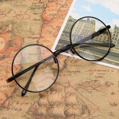 Harga New Fashion Vintage Round Lingkaran Kacamata Bingkai Miopia Kacamata Optical Rx Mampu Hitam Intl Oem Ori