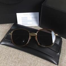 Baru Lembut Pria atau Wanita Monster Eyewear V Merk MAD CRUSH B4 Sunglasses untuk Gentle Monster Sunglasses-bingkai Coklat Lensa Hitam-Intl