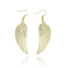 Baru Hot Fashion Wanita Wanita Perhiasan Berlian Imitasi Angel Anting Sayap GD-Intl