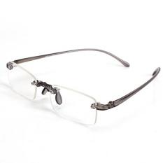 Review Pada New Memoflex Tanpa Bingkai Kacamata Baca Grey 3 Intl