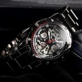 Tips Beli Pria Wanita Model Skeleton Automatic Mechanical Gunmetal Case Sport Wrist Watch Pmw207 Jam Tangan Pria Intl Yang Bagus