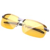 Beli Baru Haid Hd Kacamata Terpolarisasi Anti Silau Malam Vision Kacamata Mengemudi Abu Abu Bingkai Terbaru