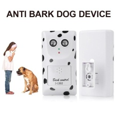 Toko Jual Baru Outdoor Ultrasonic Anti Menggonggong Stop Dog Bark Stopper Control Trainer Indoor Intl
