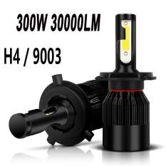 Model Baru Sepasang 9003 H4 6000 K Led Total 300 W 30000Lm Combo Headlight High Low Berseri Seri Internasional Terbaru