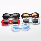 Baru Retro kecil kotak Sunglasses pria dan Women tren Sunglasses - putih kotak Ocean Blue   Lazada Indonesia