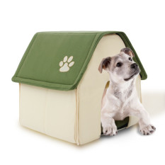 "New Soft Home Bentuk Anjing Bed Dog Kennel PET House Bandung Photo: ""Anjing Kucing Hewan Kecil Produk Rumah Removable U0854-green"