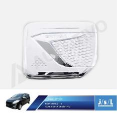 New Suzuki Ertiga Cover Tutup Bensin Chrome JSL Tank Cover Crosstivo