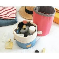 New Tas Kosmetik roundet Import AC047 (UNGU)