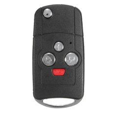 New Uncut Blade Remote Key Fold Case 4 Button Flip Key Shell For TOYOTA Camry - intl