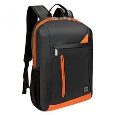 Vangoddy Baru Tas Kasus Lengan Laptop Ransel untuk MacBook Pro MacBook Pro/Dell XPS Alienware/Ponsel Envy/ lenovo G ThinkPad/ASUS ROG/Samsung Ativ Seri 13.3 15.6 Inch Ultrabook Vertical Oranye-Internasional