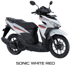 NEW VARIO 125 ESP CBS ISS - SONIC WHITE RED KAB. ACEH BARAT