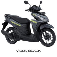 NEW VARIO 125 ESP CBS ISS - VIGOR BLACK KOTA MANADO