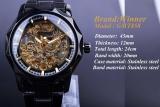 Beli New Winner Mens Watch Top Brand Luxury Men Sport Sport Jam Jam Tangan Mekanis Otomatis Pria Klasik Jam Tengkorak Kotak 081 Intl Cicilan