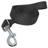 Beli Baru Y143Blackstrong Nylon Dog Pet Cat Anjing Memimpin Tali Dengan Klip Untuk Adjustable Kerah Harness Terbaru